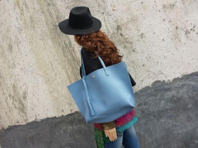 Dámská taška v měkkém provedení - 7 barev 1