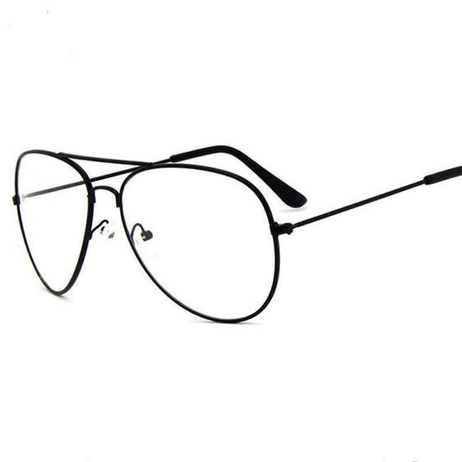 Klasična očala s prozornimi lečami 1