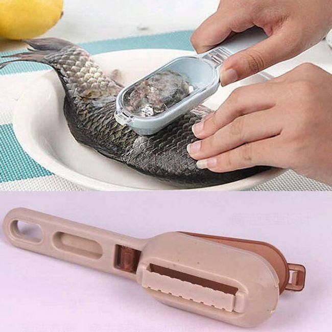Прибор для чистки рыбьей чешуи 1