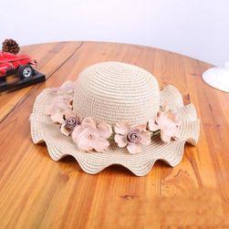 Slamnati šešir za devojčice- 3 boje
