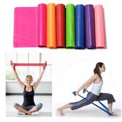 Posilovací guma na cvičení
