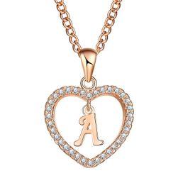 Ženska ogrlica sa slovima abecede - 26 varijanti