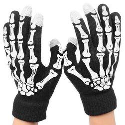Uniseks rękawiczki na dotykowy telefon - 5 kolorów