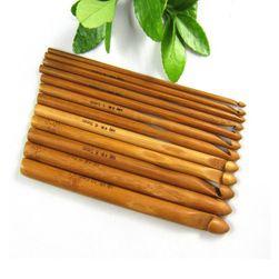 Sada bambusových pletacích jehlic