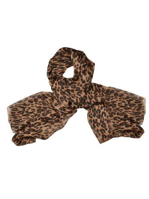 Šifonová šála Zanzea® s leopardím vzorem  1
