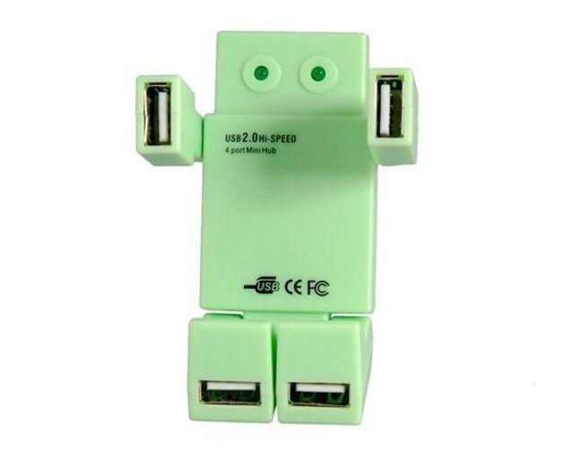 USB Hub ve tvaru robota - rozbočovač 1