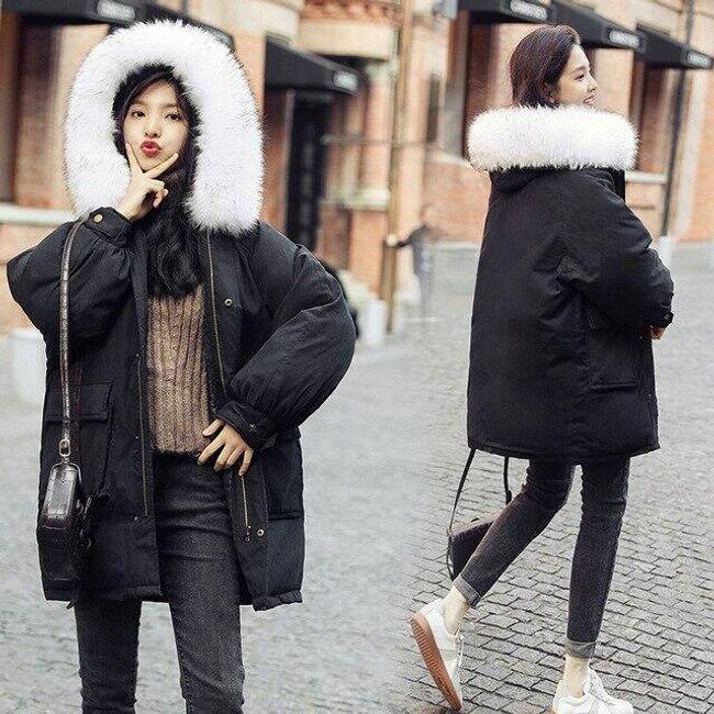 Női kabát kapucnival Amy