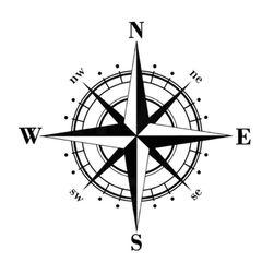 Nalepnica za auto - kompas