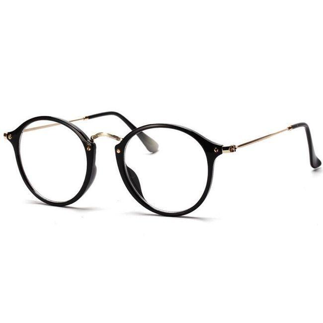 Ženske okrugle naočare - nedioptrijske 1