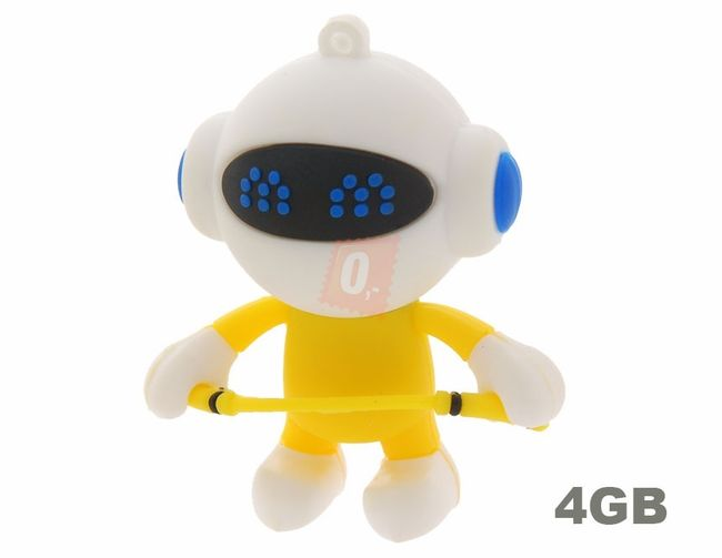 4GB Flashdisk - robot 1