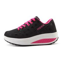 Pantofi sport de damă cu talpă înaltă
