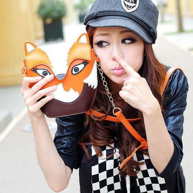 Стильная сумочка - мотив совы или лисы 1
