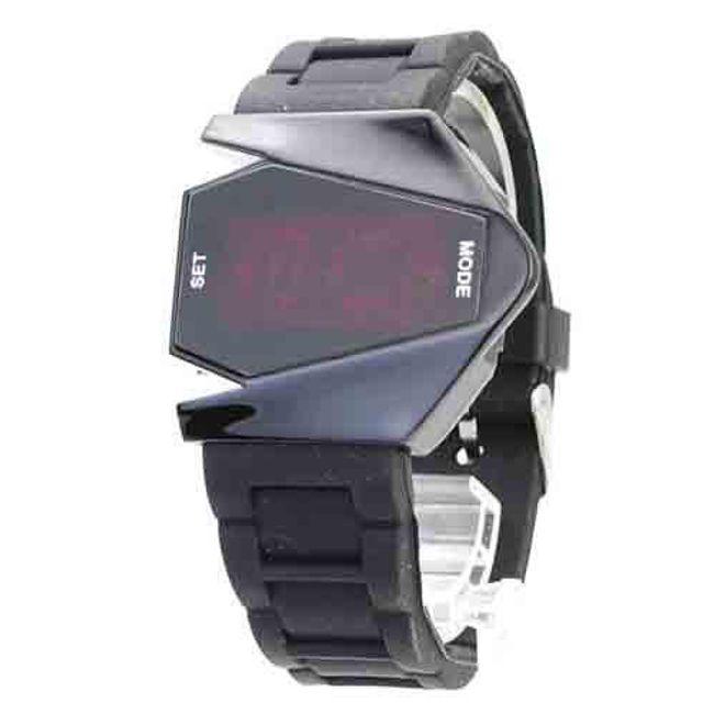 Futuristické LED digitální hodinky 1
