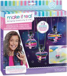 MAKE IT REAL Výroba náhrdelníků s lahvičkou na sny kreativní set SR_858825