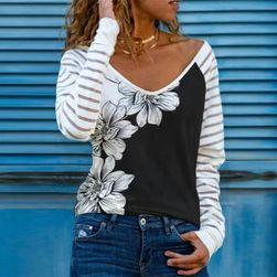 Дамска тениска с дълъг ръкав BR48