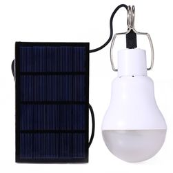 LED крушка със слънчев акумолатор
