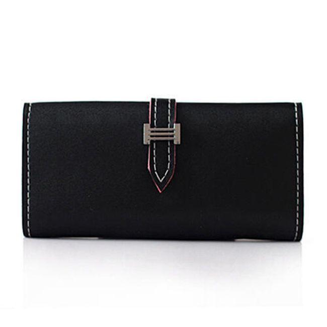 Ženska denarnica z gumbom 1