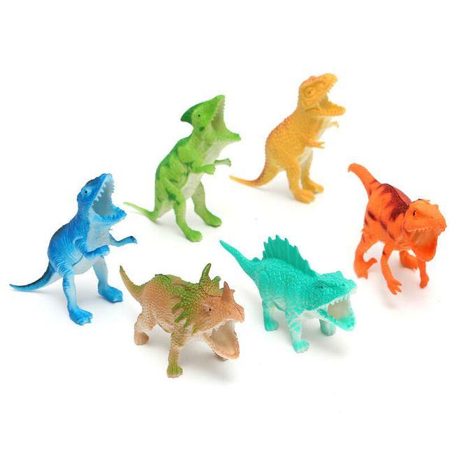 Набор динозавров- 6 шт. 1