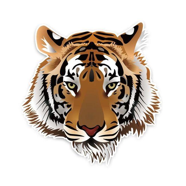 Naklejka na auto Tiger 1