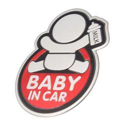 Samolepka na auto - dítě v autě