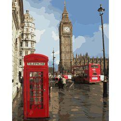Живопись по номерам London