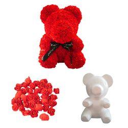 Pěnové dekorační růžičky či DIY medvídek MH4852