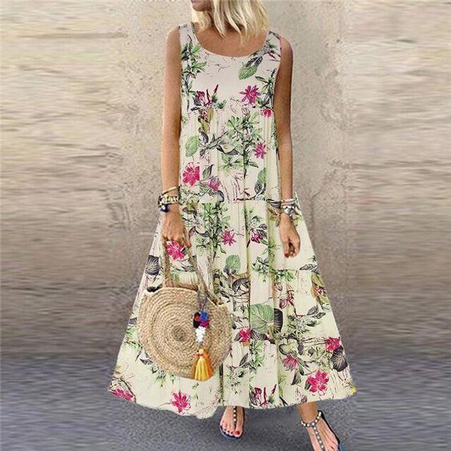 Bayan kolsuz elbise Maurelle 1