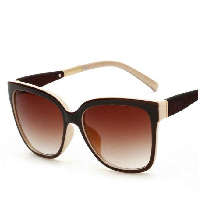 Dámské sluneční brýle - elegantní provedení 1