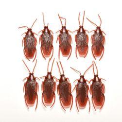 Gândac din plastic - 10 bucăți