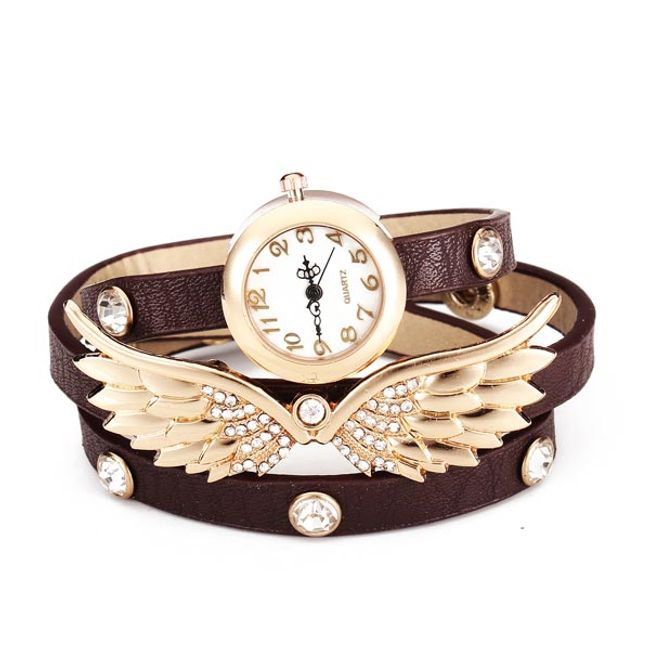 Zegarek na rękę z skrzydłami 1