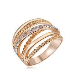 Elegantni višeslojni prsten - 3 varijante