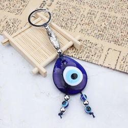 Zanimljivi privezak za ključeve - plavo oko