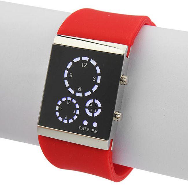 Unisex hodinky s LED displejem - 7 barev 1