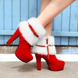 Dámské boty na podpatku Darina