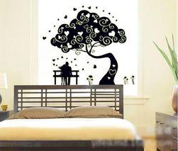 Naklejka ścienna - drzewo świecące w ciemności