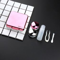 Pudełko na soczewki kontaktowe z lusterkiem