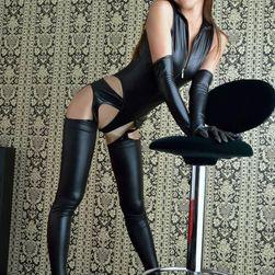 Дамски комплект - панталон, горнище и ръкавици Evelin
