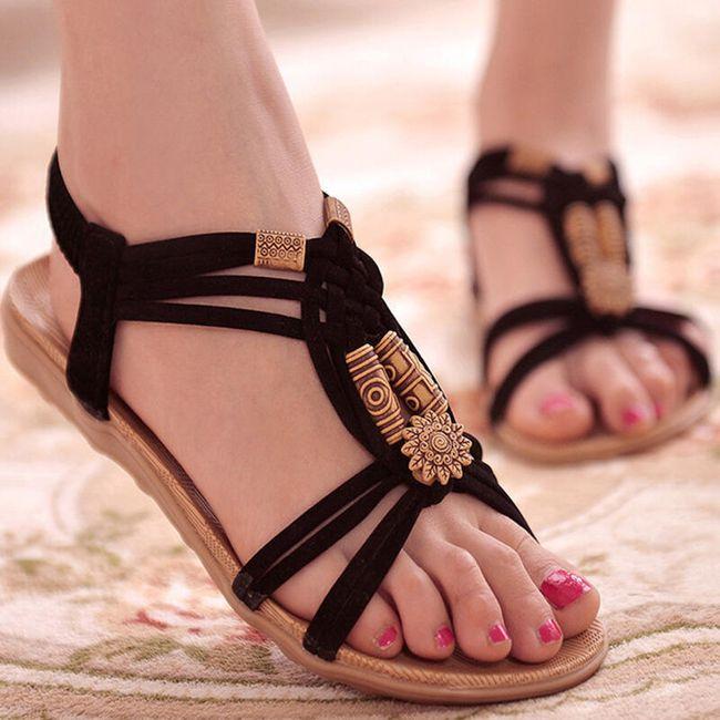 Ženski poletni sandali v boemskem stilu 1