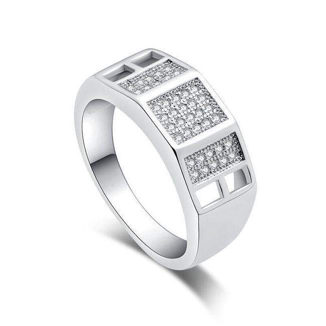 Dámský elegantní prsten - 7 variant 1