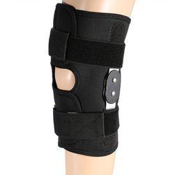 Ortéza na koleno v černé barvě