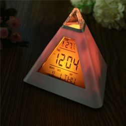 Zegar LED - piramida