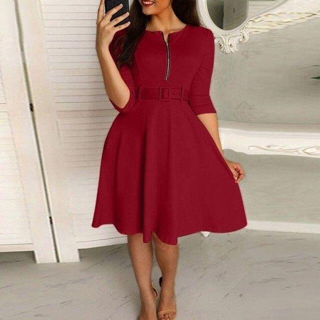 Damska sukienka z krótkim rękawem Sonja 1