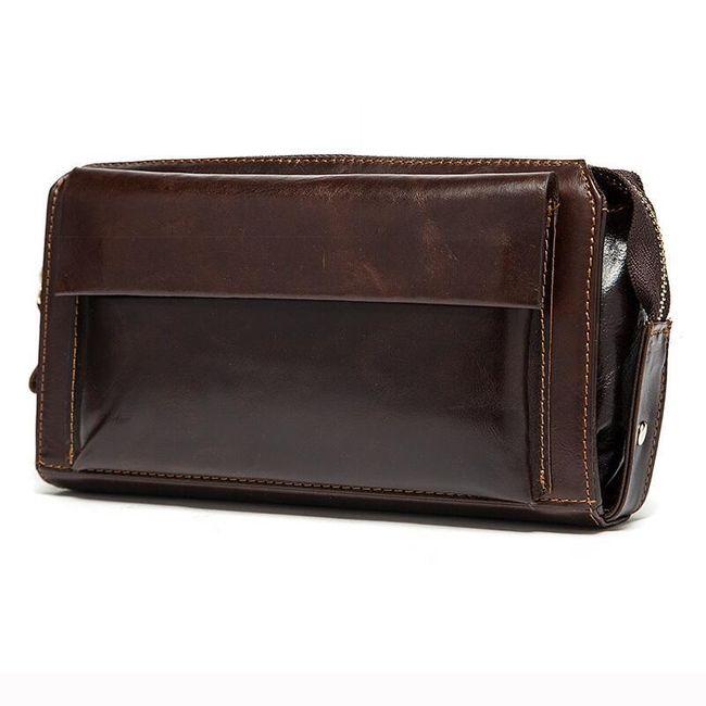 Večfunkcijska denarnica z zadrgo za moške - 2 barvi 1