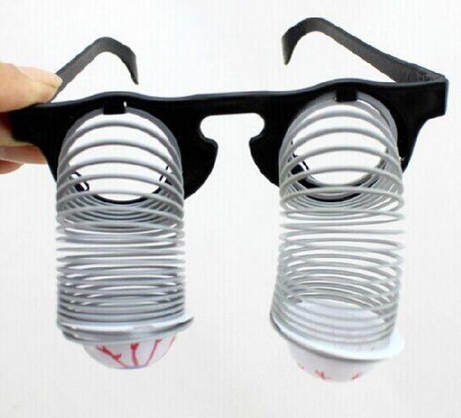 Vicces szemüveg - pattogó szemmel 1