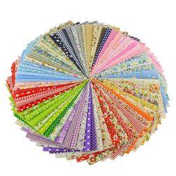 50 sztuk tkanin do szycia lub patchworku