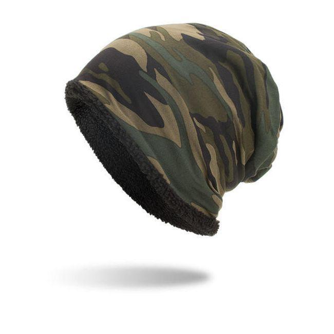álcázási kalap - 4 színben