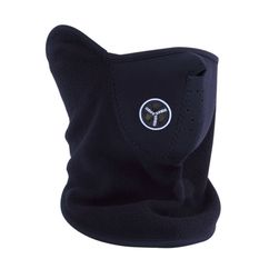 Motoristična maska - črna