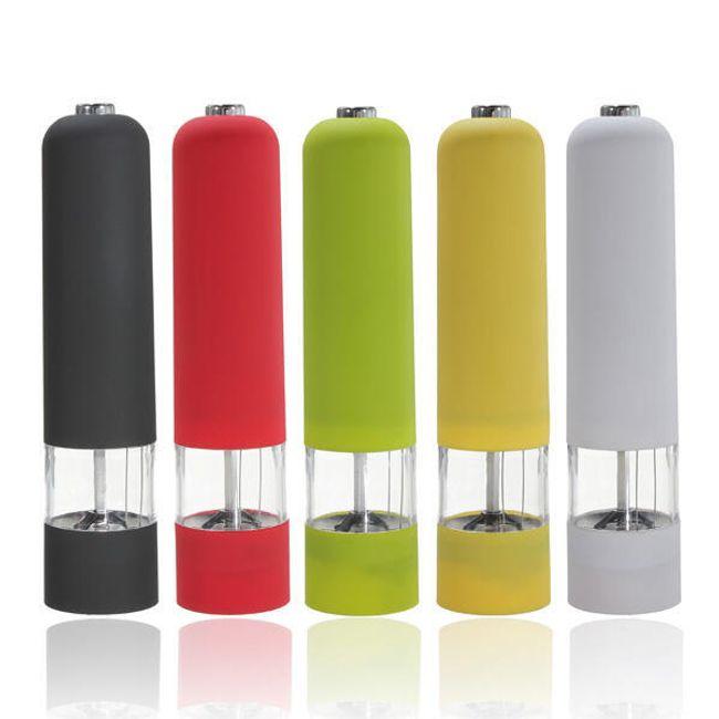 Barevný elektrický mlýnek na sůl / pepř 1