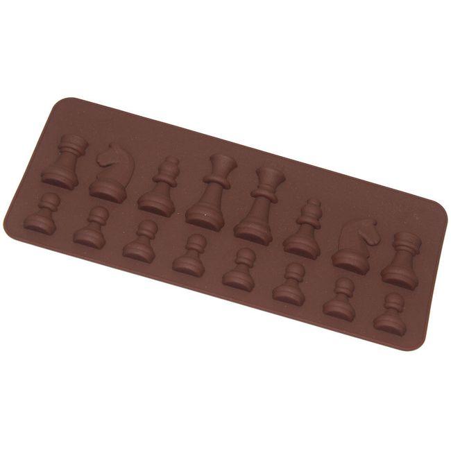 Silikonska forma za peko - šahovske figure 1