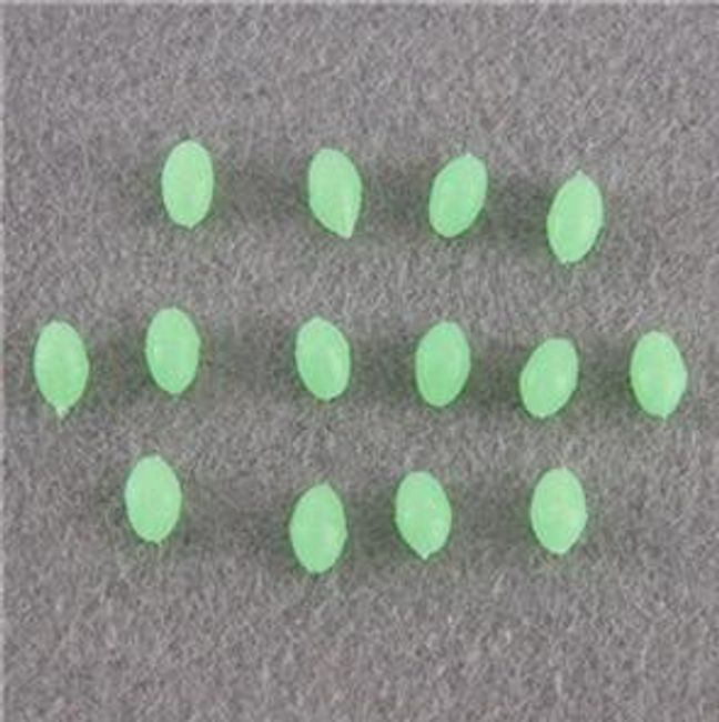 Komplet wędkarskich fosforyzujących przynęt 1